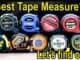 Various 25 Foot Tape Measures