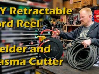 Retractable Extension Cord Reel