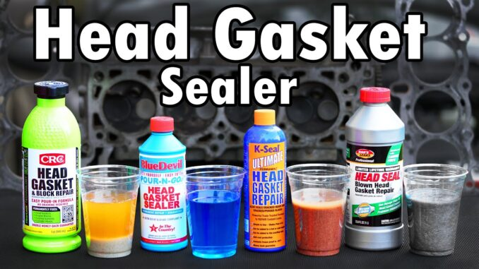 Head Gasket Repair Sealers