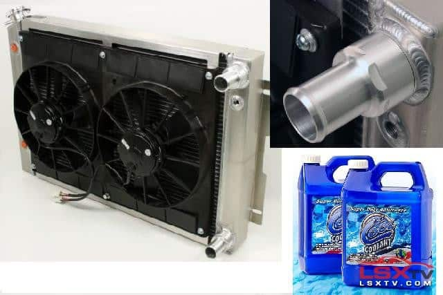 Be Cool Radiator Fan and Coolant