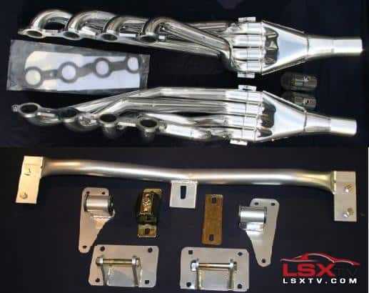1967-1969 Camaro Header Kit.